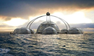 Floating cities - Sub-Biosphere 2